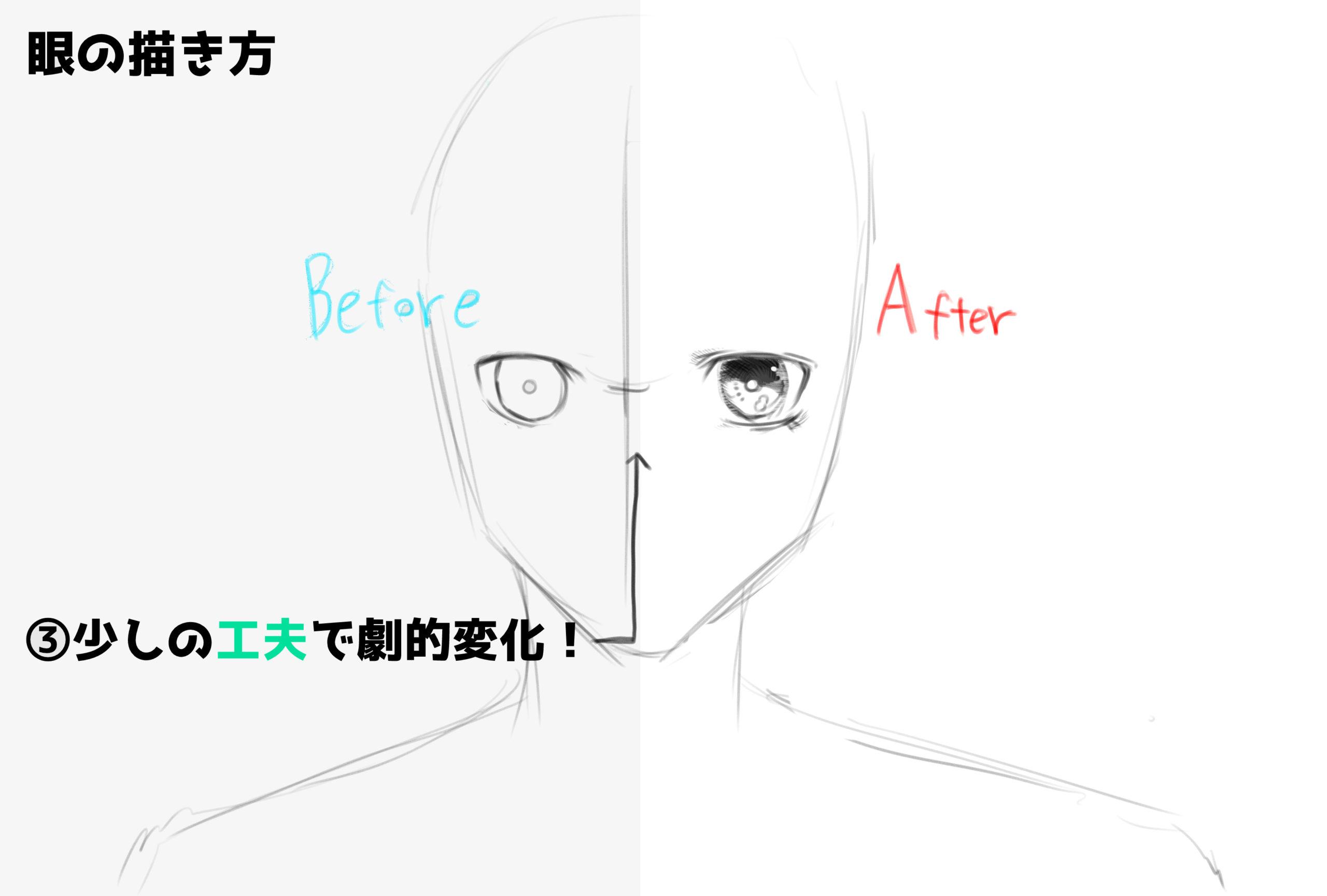 眼の描き方③